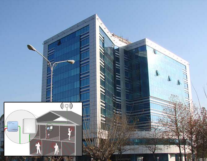 پوشش دهی سیگنال موبایل در ساختمان اداری